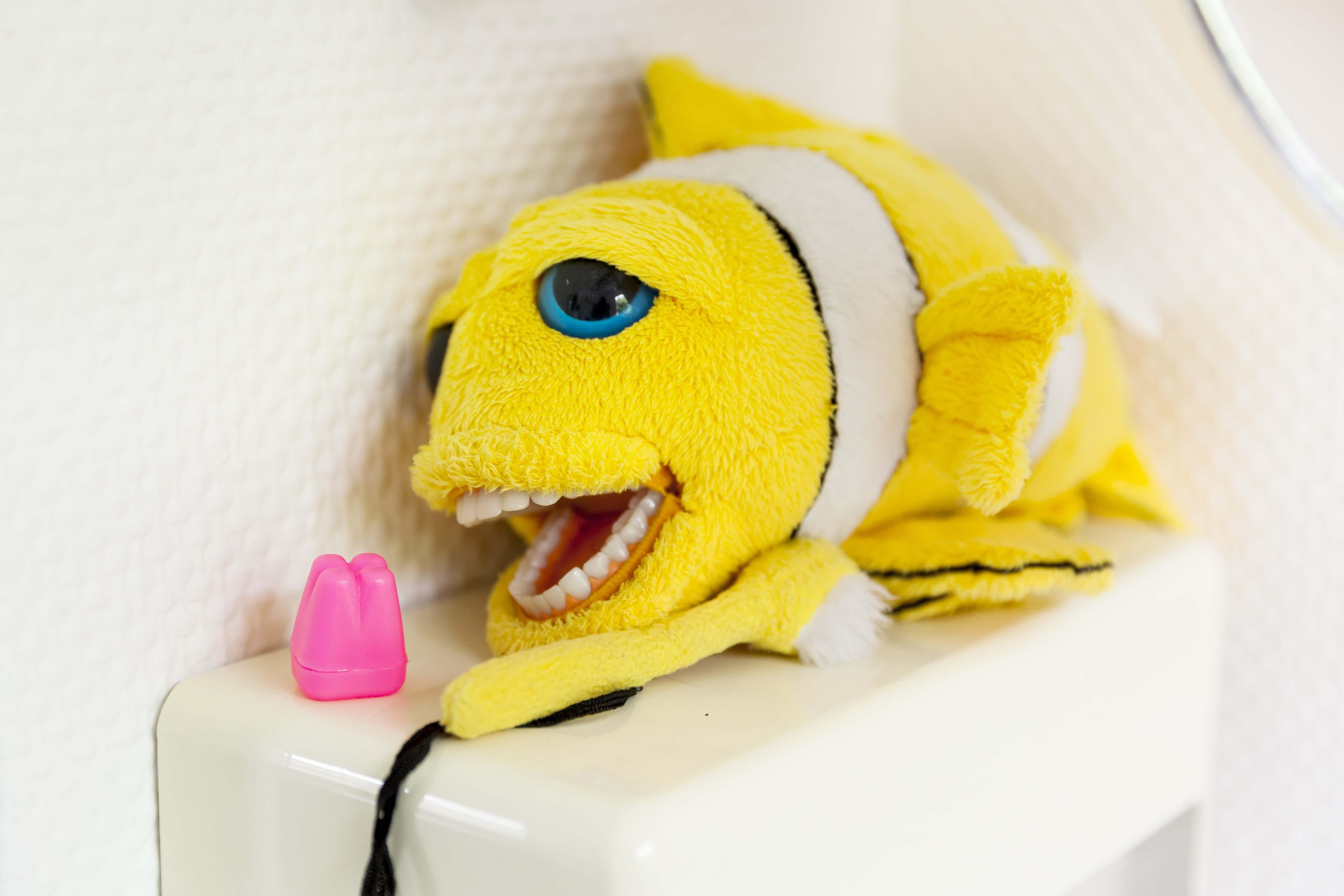 Zahnfisch zur Vorführung bei Kindern